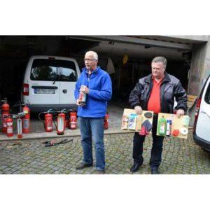 Brandschutzunterweisung Ihrer Mitarbeiter mit einem Feuerlöschtrainer