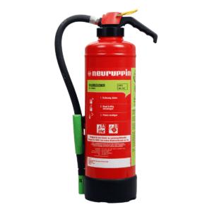 Schaum Auflade-Feuerlöscher NEU S 6 SKA